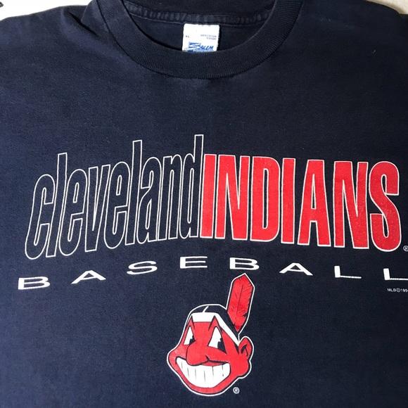 a1f1003533952 Vintage Salem Sportswear Cleveland Indians MLB